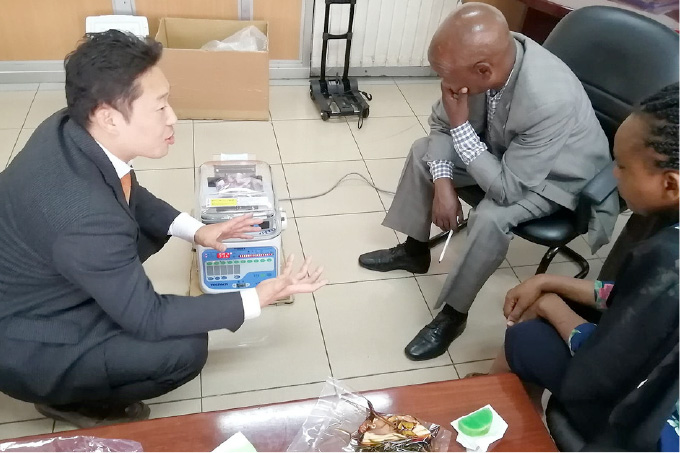 AfricanDream事業/水産養殖改善事業
